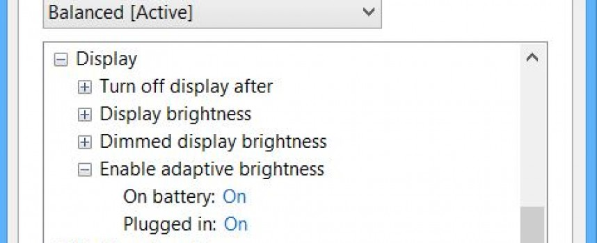 Turn on Adaptive Brightness on Your Laptop!