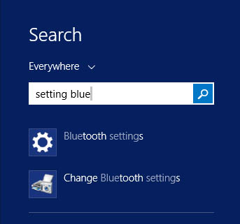 Hot PC Tips - Settings Bluetooth