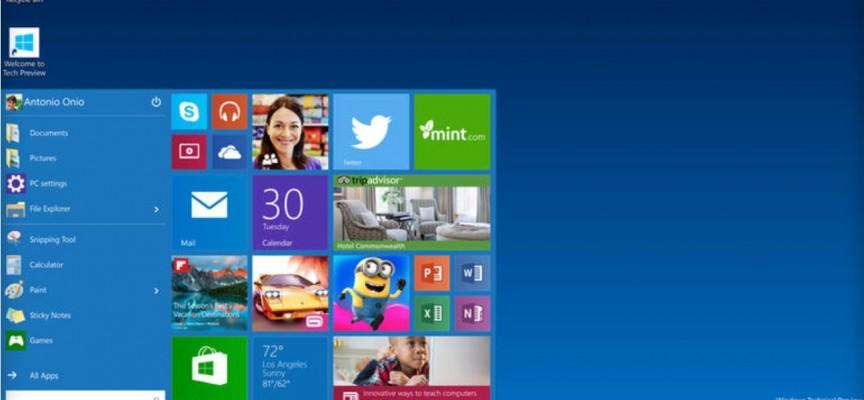 Windows 9 Has Just Become Windows 10